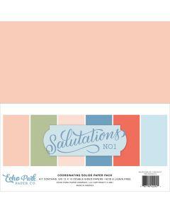 Salutations No.1 Solids Kit - Echo Park*
