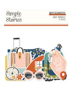 Safe Travels Bits & Pieces - Simple Stories