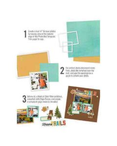 Simple Photo Mat Templates - Simple Stories