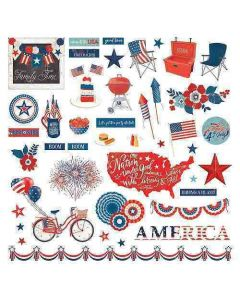 America the Beautiful Element Stickers - Michelle Coleman - PhotoPlay