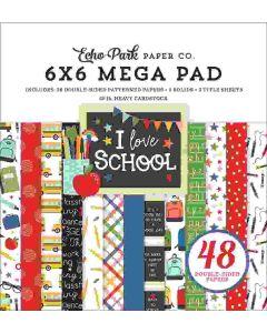 I Love School Cardmakers Mega Pad - Echo Park