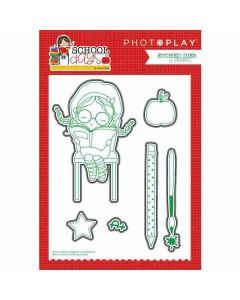 PhotoPlay Back to School Etched Dies