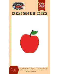 Red Apple Die Set - School Rules - Echo Park*