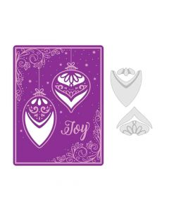 Season of Joy Embossing Folder Project