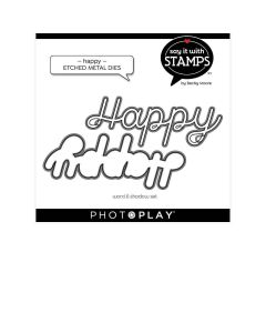 Happy Dies - Say It With Stamps - Becky Moore - PhotoPlay*