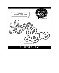 Love Dies - Say It With Stamps - Becky Moore - PhotoPlay*