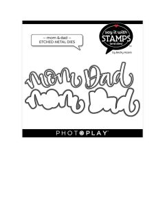 Mom/Dad Dies - Say It With Stamps - Becky Moore - PhotoPlay*