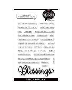 Blessing Word Stamps - Say It With Stamps - PhotoPlay