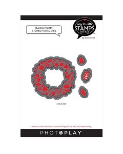 Fall Build a Wreath Dies - Say It With Stamps - PhotoPlay