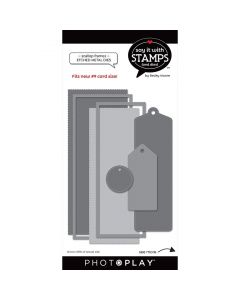 #9 Scallop Tag Dies - Say It With Stamps - PhotoPlay