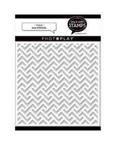 Maze Stencil - Say It With Stamps - PhotoPlay