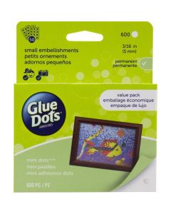 Mini Glue Dots School Value Pack (600 count) - Glue Dots