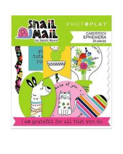 Snail Mail Ephemera - Becky Moore - PhotoPlay