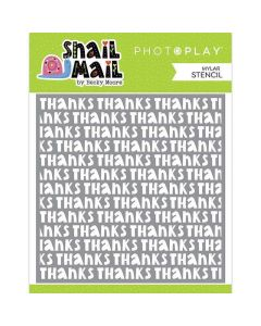Snail Mail Stencil - Becky Moore - PhotoPlay