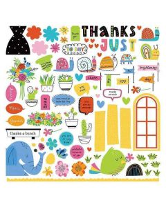 Snail Mail Card Kit Stickers - Becky Moore - PhotoPlay