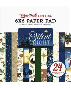 "Silent Night 6"" x 6"" Paper Pad - Echo Park"