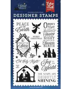 Peace On Earth Stamps - Silent Night - Echo Park
