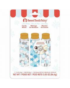 Sweet Tooth Fairy Edible Christmas Sprinkles - Snow Happy
