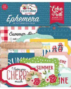 A Slice Of Summer Ephemera - Echo Park*