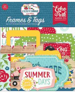 A Slice Of Summer Frames & Tags - Echo Park*