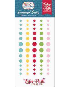 A Slice Of Summer Enamel Dots - Echo Park*