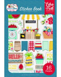 A Slice Of Summer Sticker Book - Echo Park*
