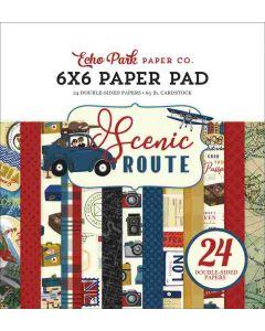 "Scenic Route 6"" x 6"" Paper Pad - Echo Park*"