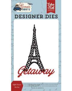 Eiffel Tower Die Set - Scenic Route - Echo Park