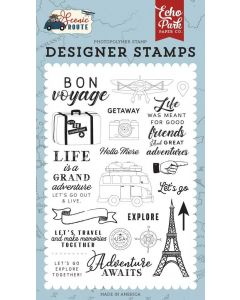 Let's Go Travel Stamp Set - Scenic Route - Echo Park*