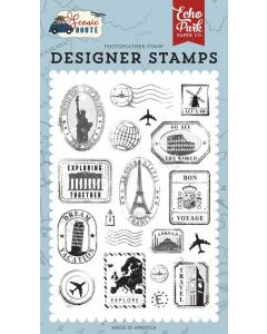 Travel Stamp Set - Scenic Route - Echo Park*