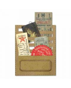 Stitched Slot Sizzix die by Tim Holtz