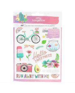 Amy Tangerine Stay Sweet Sticker book