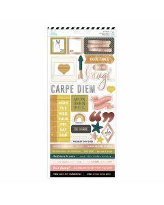 Honey & Spice Stickers - Heidi Swapp