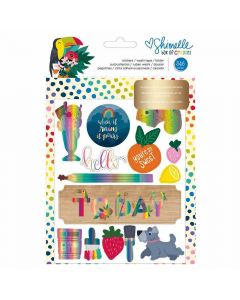 Box of Crayon Sticker and Washi tape book