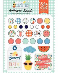 Summertime Adhesive Brads - Echo Park*