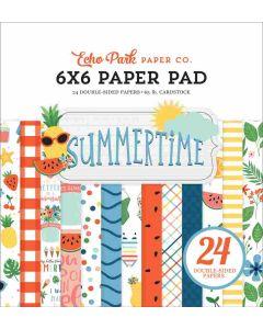 "Summertime 6"" x 6"" Paper Pad - Echo Park*"