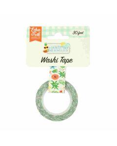 Summer Flowers Washi Tape - Summertime - Echo Park*