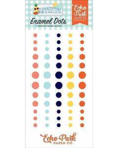 Summertime Enamel Dots - Echo Park*