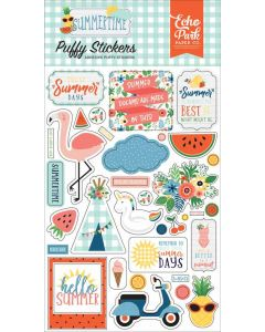 Summertime Puffy Stickers - Echo Park*