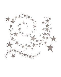 Tim Holtz Sizzix SWIRLING STARS Thinlits Die Set