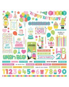 Tulla's Birthday Party Element Stickers - PhotoPlay