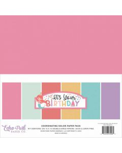 It's Your Birthday Girl Solids Kit - Echo Park