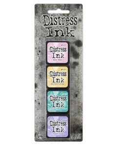 Mini Distress Ink Kit 4 - Tim Holtz - Ranger