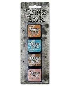 Mini Distress Ink Kit 6 - Tim Holtz - Ranger