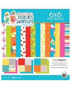 Tulla & Norbert's Excellent Adventure Quad Paper Pack - Becky Moore - PhotoPlay*