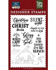 Glory To God Stamps - The First Noel - Echo Park
