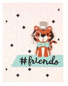 Spellbinders Tiger, Oh My! Card