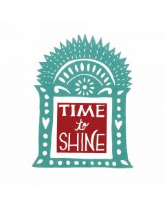 Sizzix Time to Shine Shrine by Crafty Chica