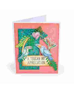 Lynda Kanase Toucan Sentiments Card