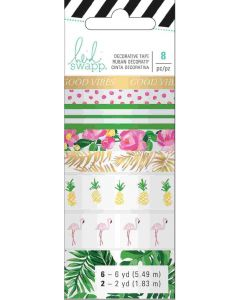 Tropical Memory Planner Washi Tape